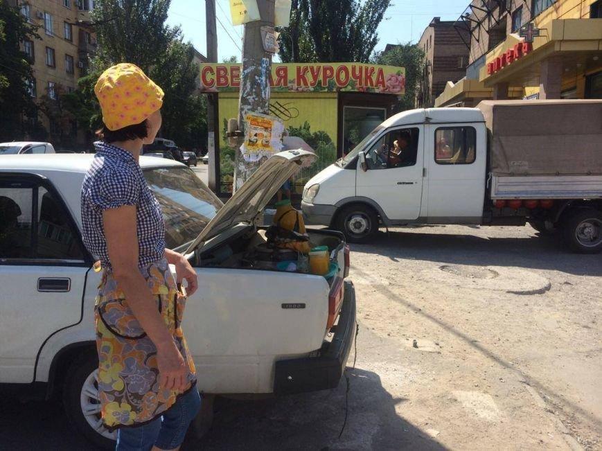 Разгонять стихийных торговцев в Мариуполе попросят казаков (ФОТО, ВИДЕО), фото-3