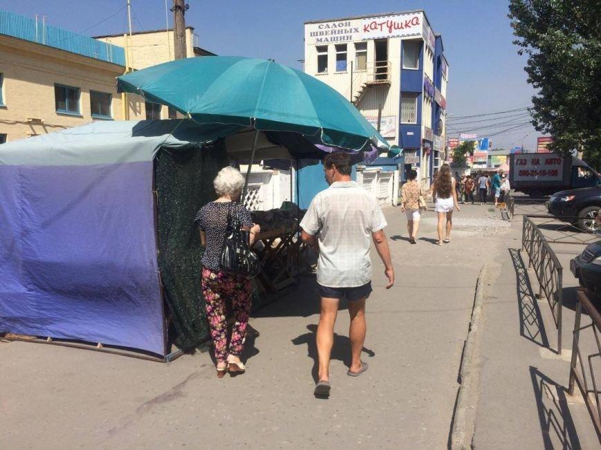Разгонять стихийных торговцев в Мариуполе попросят казаков (ФОТО, ВИДЕО), фото-2