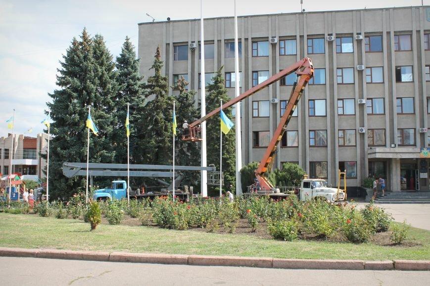 Славянск готовится ко Дню Независимости, фото-4