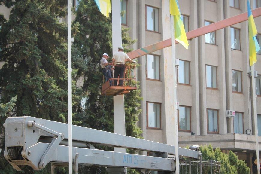 Славянск готовится ко Дню Независимости, фото-3
