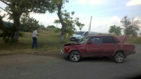 Советский автопром против немецкого: Под Одессой произошла авария (ФОТО), фото-2