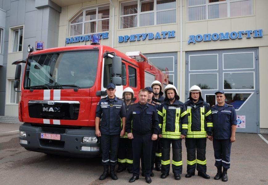 В Кропивницком появился новый пожарный автомобиль (ФОТО), фото-2