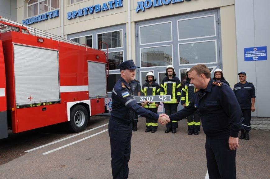 В Кропивницком появился новый пожарный автомобиль (ФОТО), фото-1
