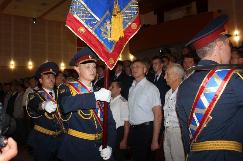 Белгородскому УФСИН вручили символ воинской чести – собственное знамя, фото-3