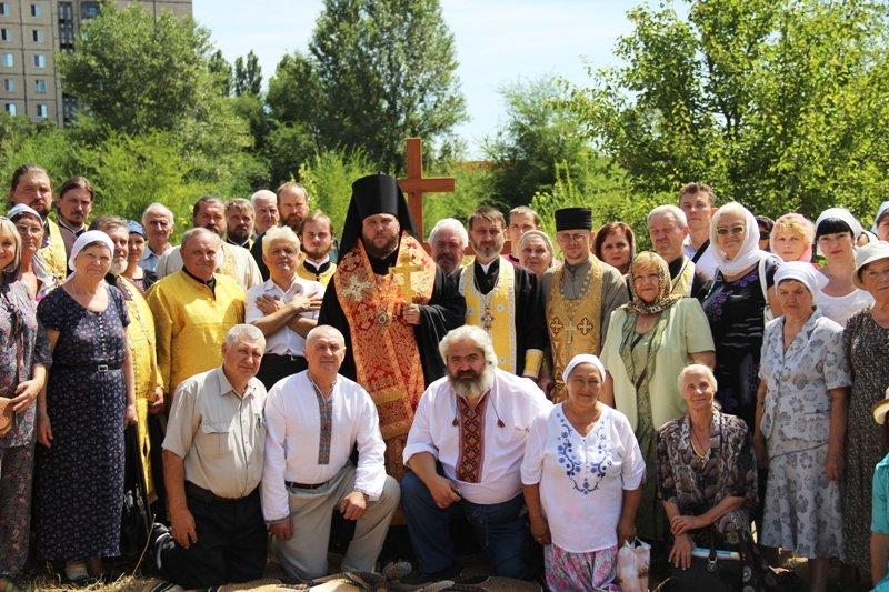 На Заречном освятили участок для строительства церкви УПЦ Киевского патриархата (ФОТО), фото-4