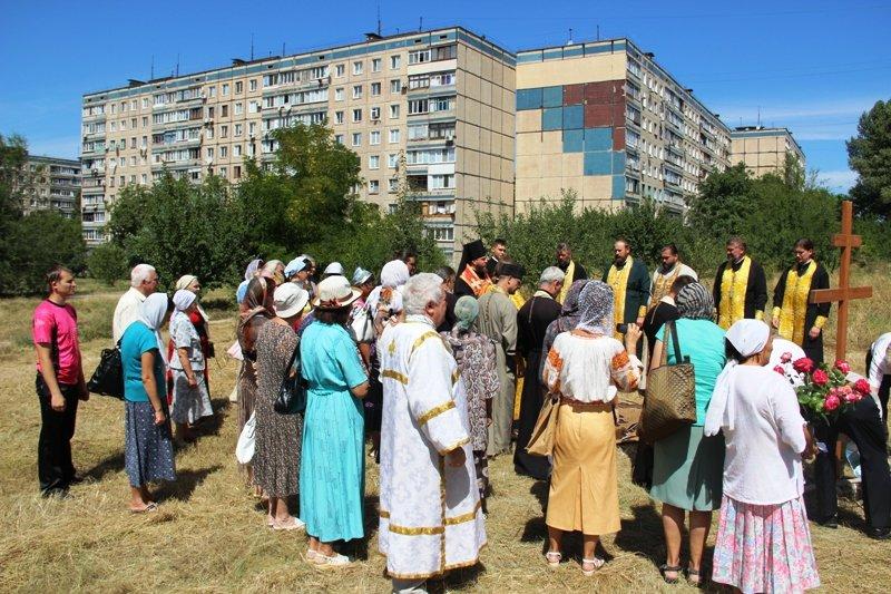 На Заречном освятили участок для строительства церкви УПЦ Киевского патриархата (ФОТО), фото-10