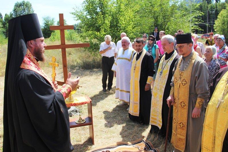 На Заречном освятили участок для строительства церкви УПЦ Киевского патриархата (ФОТО), фото-5