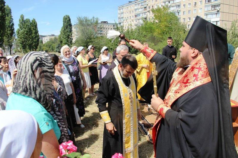 На Заречном освятили участок для строительства церкви УПЦ Киевского патриархата (ФОТО), фото-6