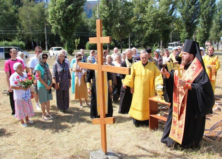 На Заречном освятили участок для строительства церкви УПЦ Киевского патриархата (ФОТО), фото-8
