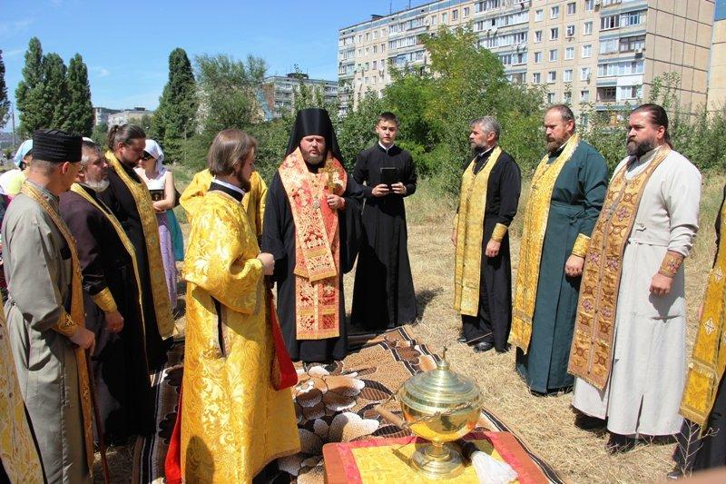 На Заречном освятили участок для строительства церкви УПЦ Киевского патриархата (ФОТО), фото-11