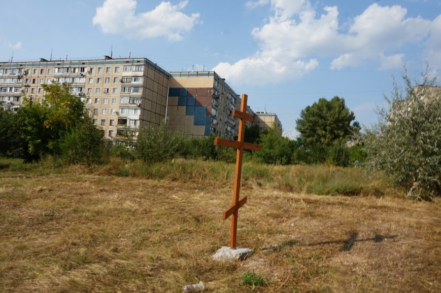 На Заречном освятили участок для строительства церкви УПЦ Киевского патриархата (ФОТО), фото-16