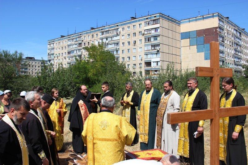 На Заречном освятили участок для строительства церкви УПЦ Киевского патриархата (ФОТО), фото-9