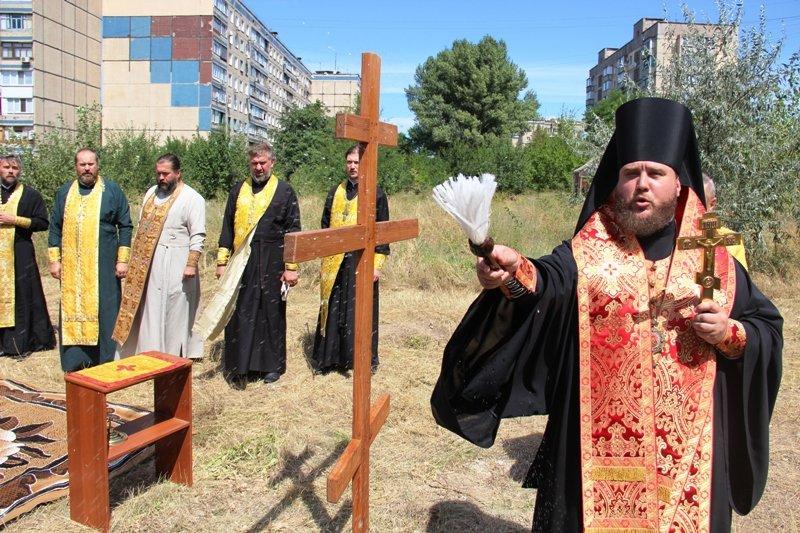 На Заречном освятили участок для строительства церкви УПЦ Киевского патриархата (ФОТО), фото-7