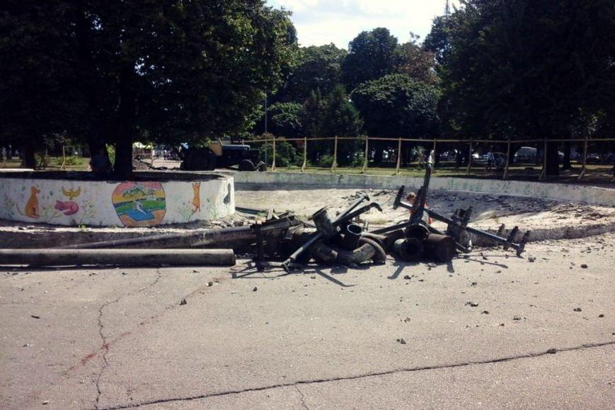 В центре Чернигова начались работы по реконструкции фонтана, фото-3