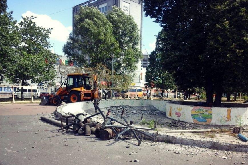 В центре Чернигова начались работы по реконструкции фонтана, фото-2