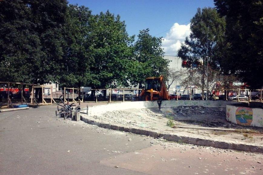 В центре Чернигова начались работы по реконструкции фонтана, фото-6