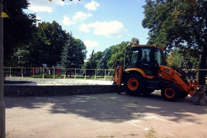 В центре Чернигова начались работы по реконструкции фонтана, фото-4