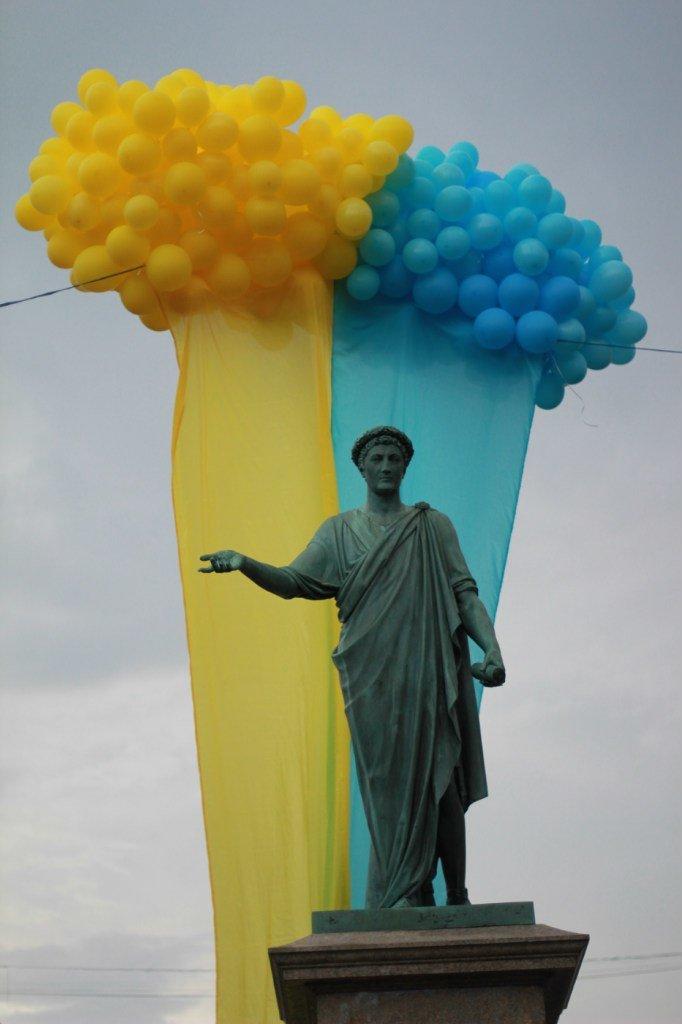 Измерения одесского патриотизма: от сине-желтой ленточки до ухода на фронт (ФОТО), фото-1