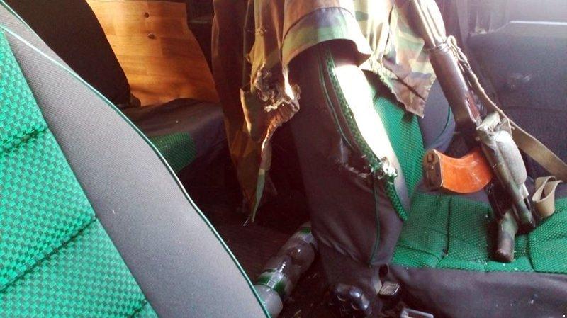 В Донецкой области боевики обстреляли автомобиль наблюдателей СЦКК (ФОТО), фото-4