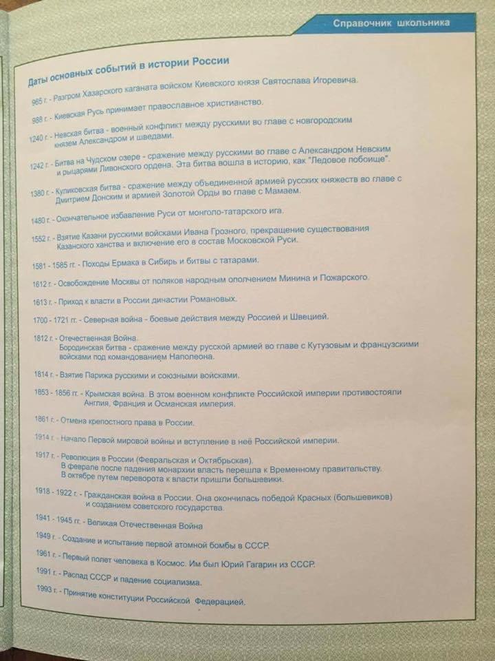 В дневниках для одесских школьников предлагают праздновать день независимости России (ФОТО), фото-1