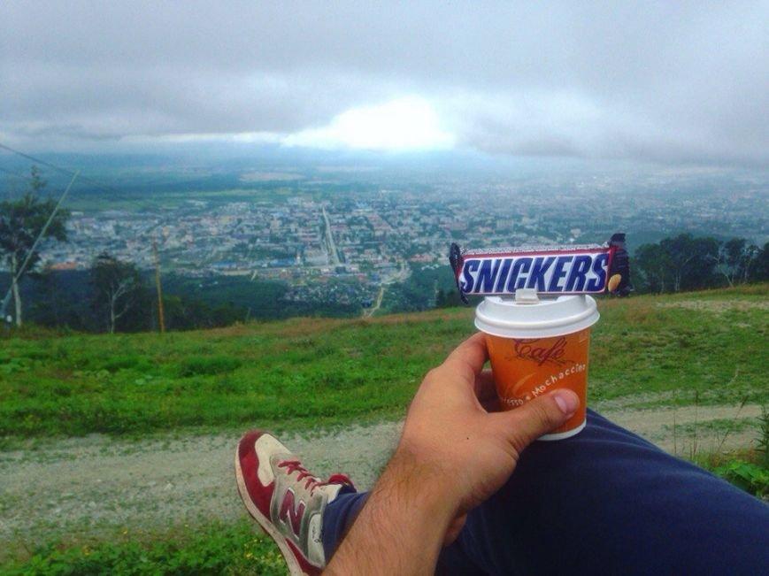 Восхождение на гору Большевик совершили южносахалинцы в честь российского флага, фото-9