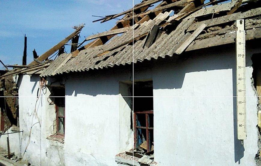 Боевики из тяжелой артиллерии обстреляли село под Донецком - разрушены частные дома (ФОТО), фото-2