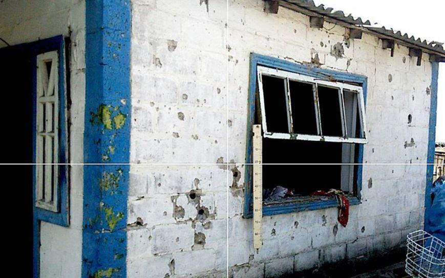 Боевики из тяжелой артиллерии обстреляли село под Донецком - разрушены частные дома (ФОТО), фото-1