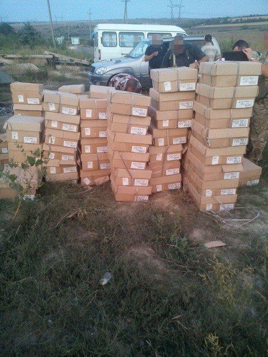 СБУ задержала в районе АТО незаконные грузы на полмиллиона гривен, фото-4