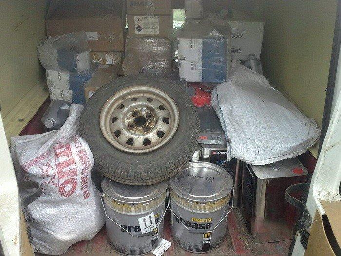 СБУ задержала в районе АТО незаконные грузы на полмиллиона гривен, фото-2