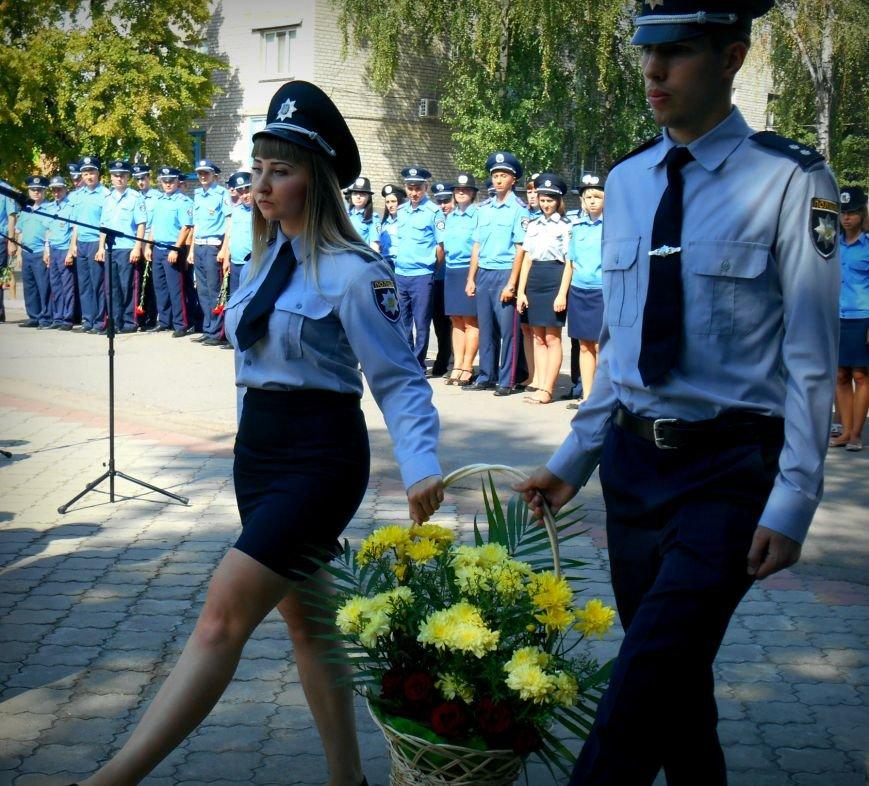 Сьогодні у Слов'янську вшанували пам'ять загиблих співробітників поліції, фото-2