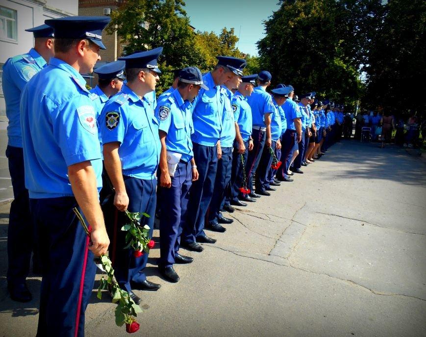 Сьогодні у Слов'янську вшанували пам'ять загиблих співробітників поліції, фото-1