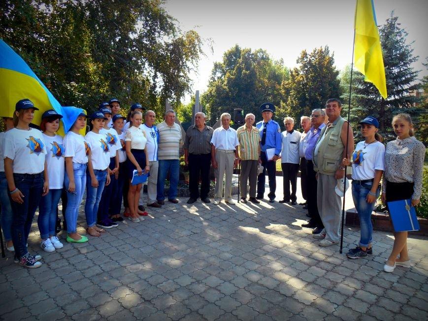 Сьогодні у Слов'янську вшанували пам'ять загиблих співробітників поліції, фото-5
