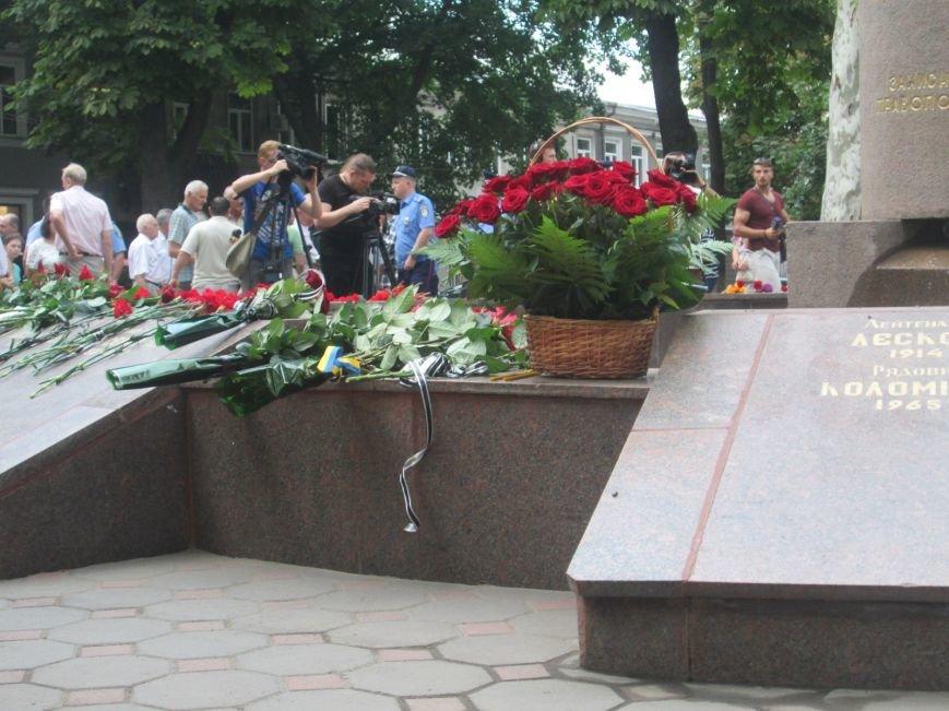 Одесские правоохранители почтили память своих погибших коллег (ФОТО), фото-2