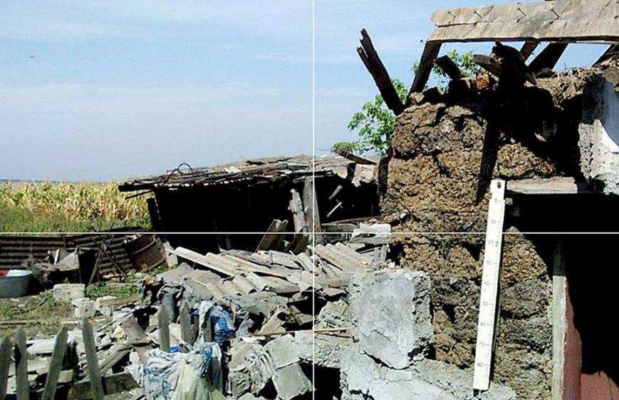 Боевики из тяжелой артиллерии обстреляли село под Донецком (ФОТО), фото-4