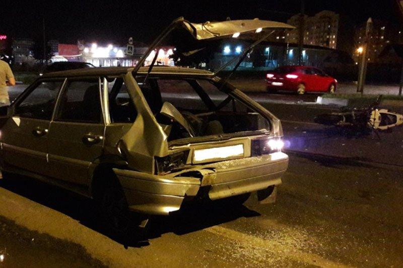 На прошедших выходных пьяные водители устроили два ДТП, фото-1
