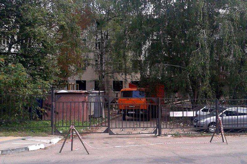 В Белгороде сносят здание роддома на Некрасова, фото-1