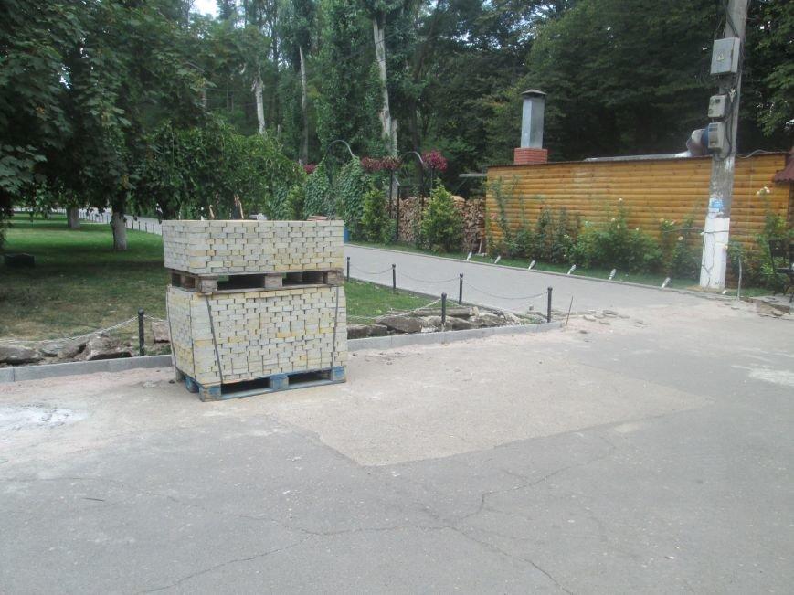 Одесский парк преобразили плиткой (ФОТО), фото-9
