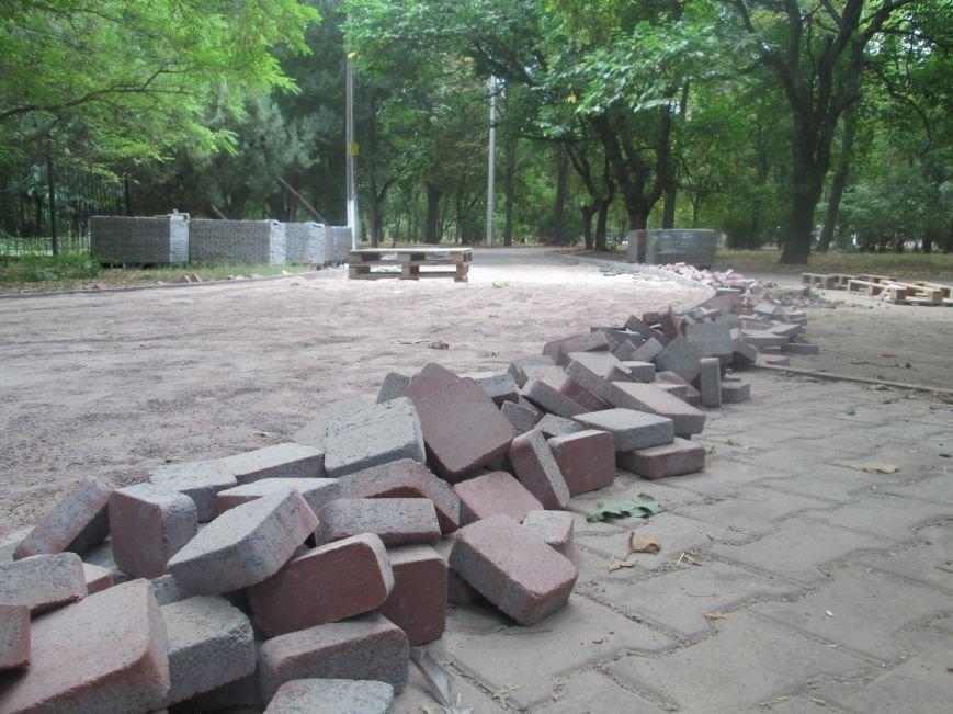 Одесский парк преобразили плиткой (ФОТО), фото-2