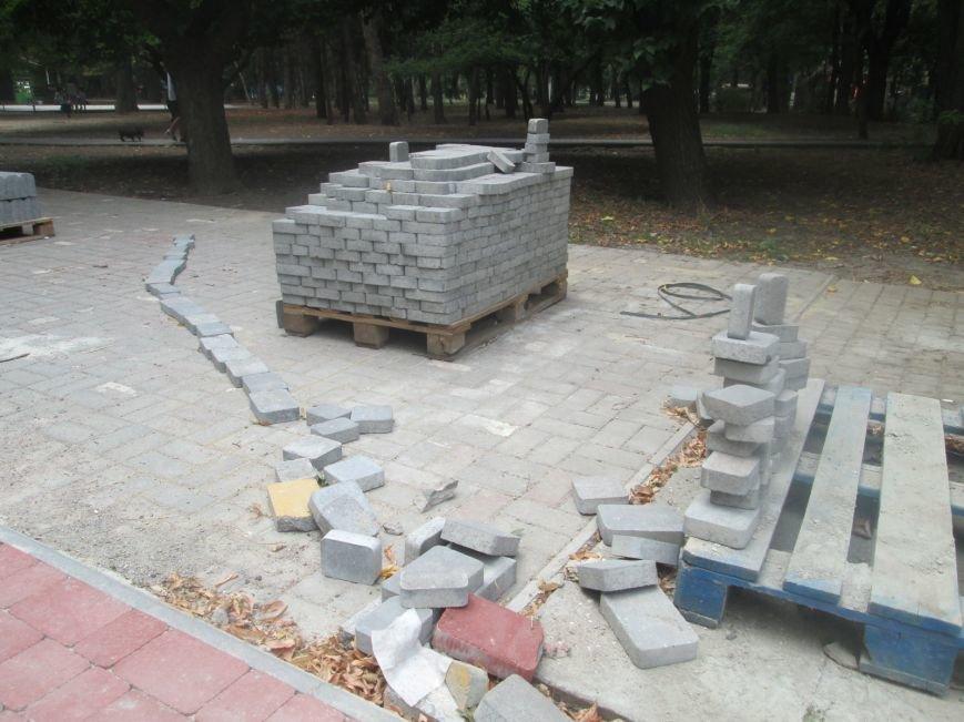 Одесский парк преобразили плиткой (ФОТО), фото-5