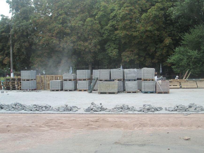 Одесский парк преобразили плиткой (ФОТО), фото-7