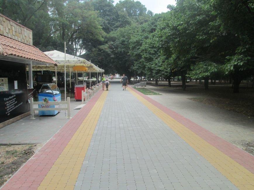 Одесский парк преобразили плиткой (ФОТО), фото-4