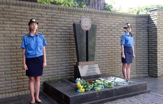 Полицейские Донецкой области почтили память коллег, погибших при исполнении служебных обязанностей (ФОТО), фото-6