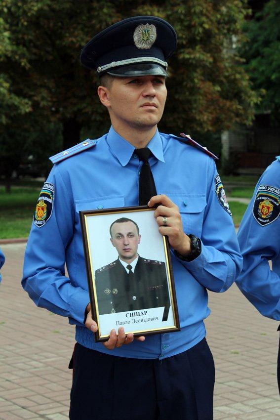 В Кропивницком почтили память погибших при исполнении служебных обязанностей работников органов внутренних дел, фото-7
