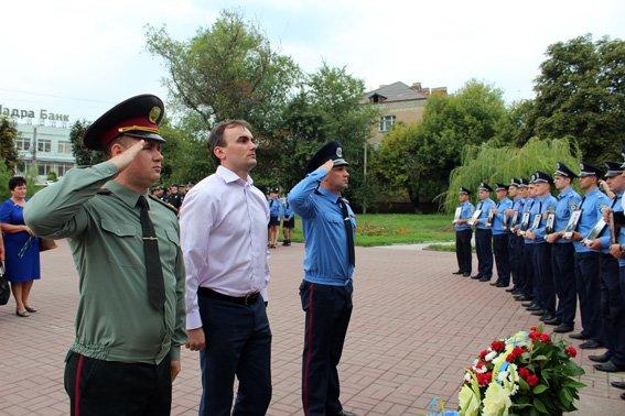 В Кропивницком почтили память погибших при исполнении служебных обязанностей работников органов внутренних дел, фото-3