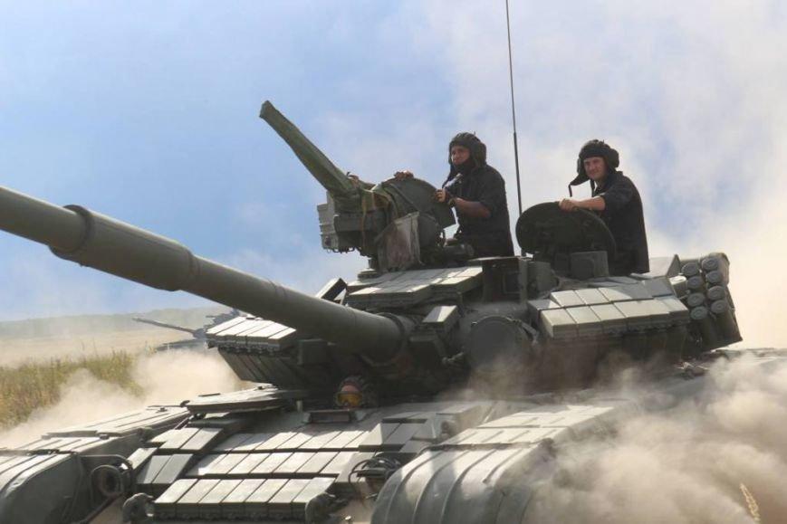 На полигоне в Черниговской области соревновались танкисты (фото), фото-7
