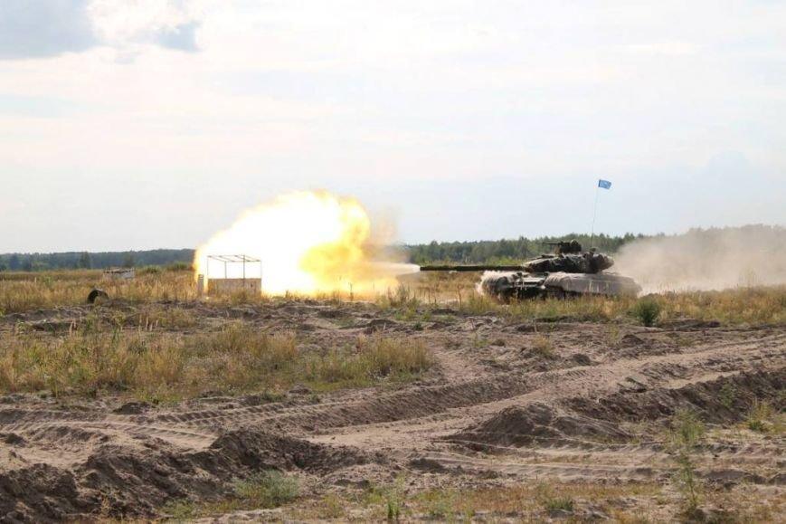 На полигоне в Черниговской области соревновались танкисты (фото), фото-3