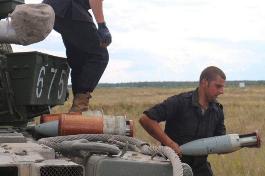 На полигоне в Черниговской области соревновались танкисты (фото), фото-10
