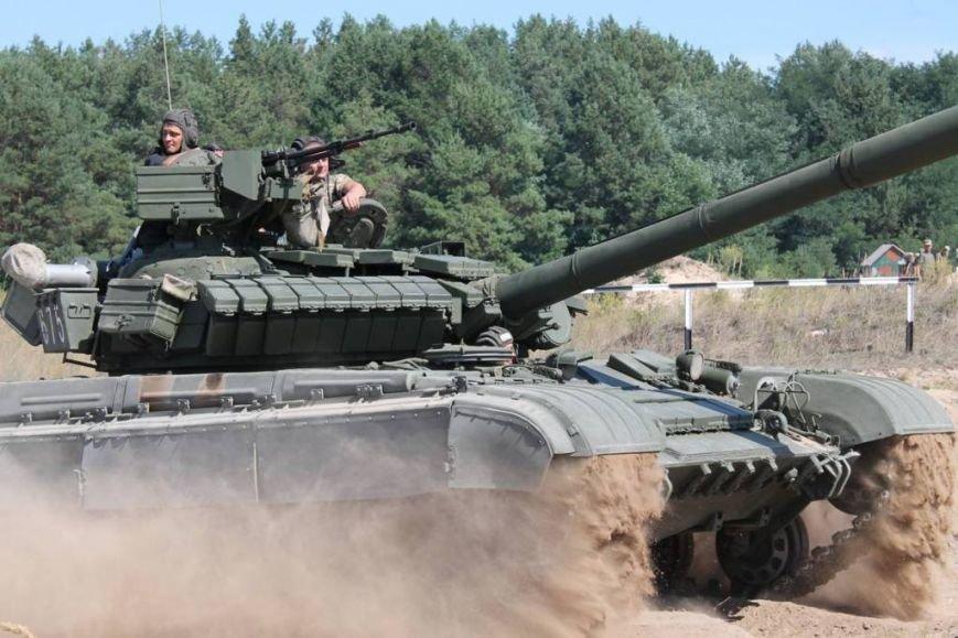 На полигоне в Черниговской области соревновались танкисты (фото), фото-6