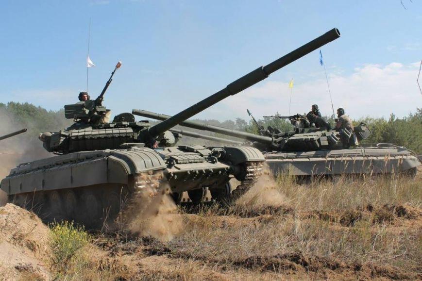 На полигоне в Черниговской области соревновались танкисты (фото), фото-5