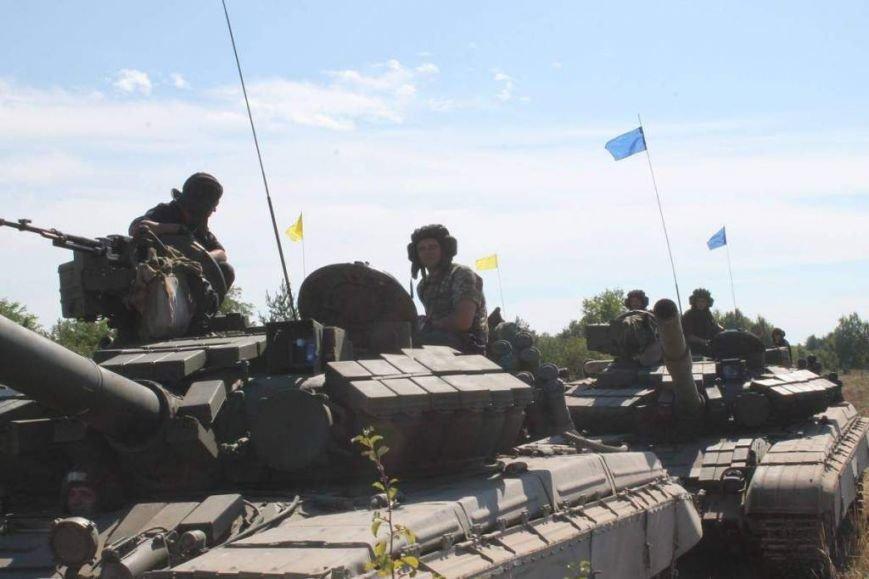 На полигоне в Черниговской области соревновались танкисты (фото), фото-11